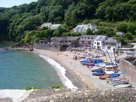 Cawsand From SW Coastal Path
