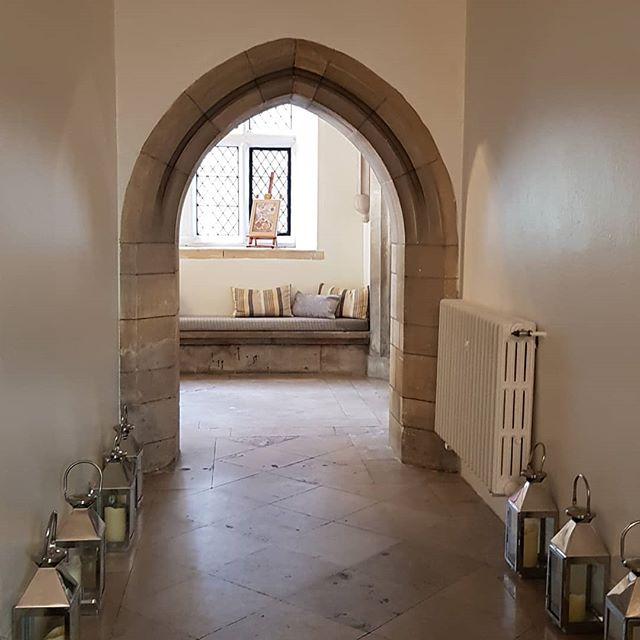 Passage to main reception