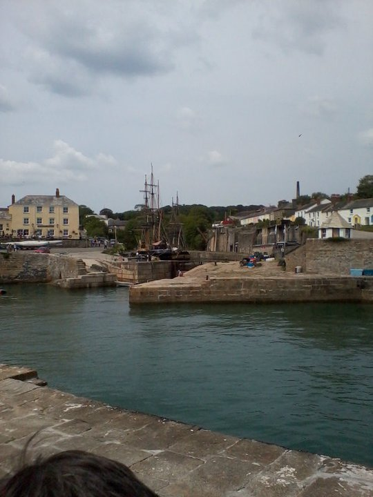 Looking In To Charlestown Harbour