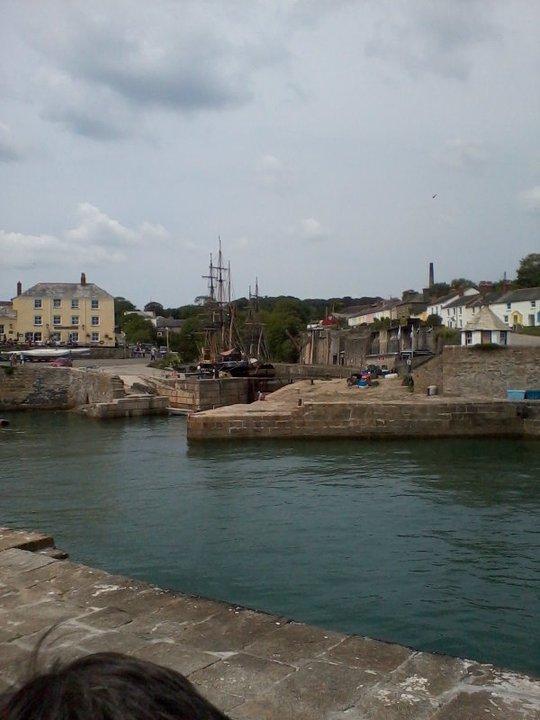 Looking In To Charlestown Harbour