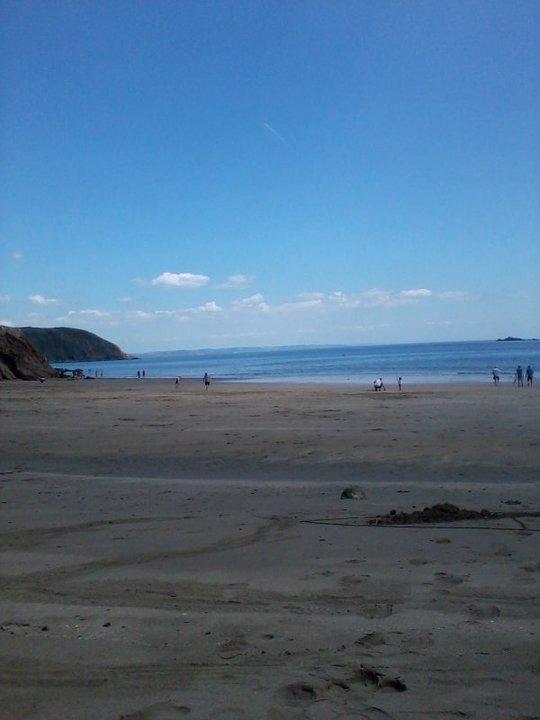 Gorran Haven Beach