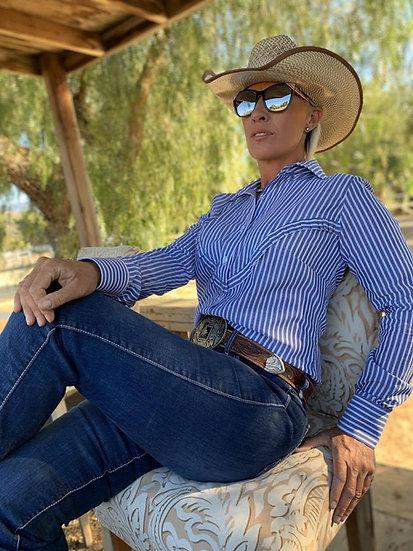 Beth Dutton in Light Weight Cowboy Stripe