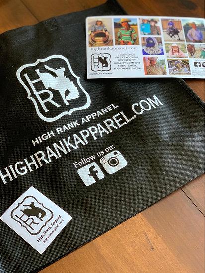 High Rank Apparel Reusable Bag