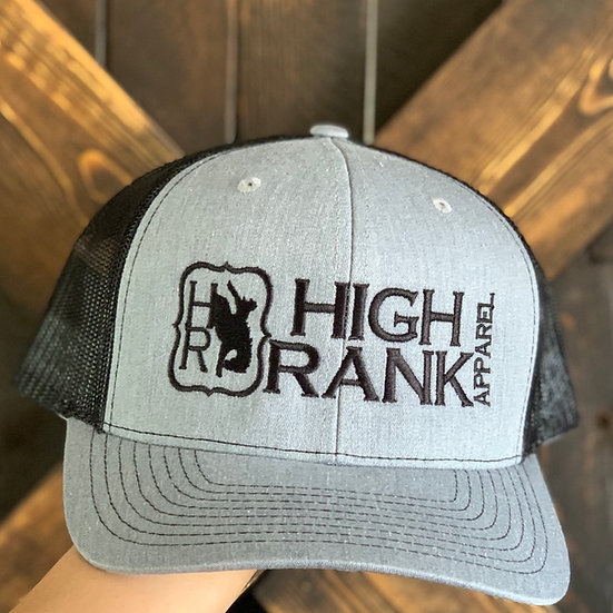 HRA Richardson 112 SnapBack Heather Gray & Black