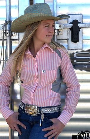 Pretty Pink Cowboy Performance Shirt