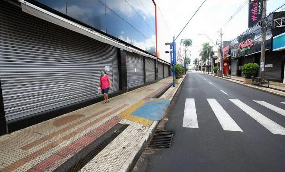 Lockdown na cidade de Araraquara - Foto: Agência O Globo