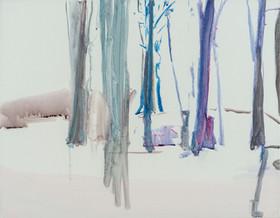 Wit landschap II