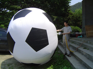"""title: pickup truck and ball - date: 2004, Single Channel, DV, 01'00"""", NTSC, SOUND, COLOR - content: pickup truck and ball - Single Channel, DV, 01'00"""", NTSC, SOUND, COLOR, 2004"""