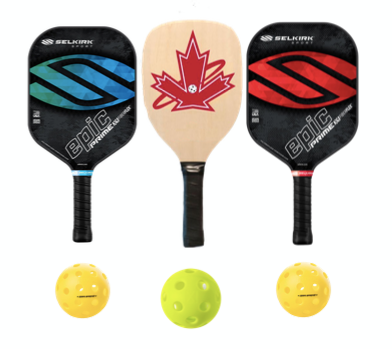 Wooden and Selkirk Prime Epic 3 Paddle Package