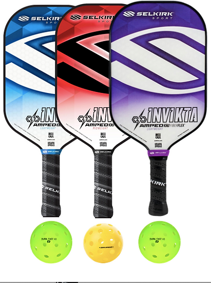 Selkirk Amped Invikta 3 Paddle Package