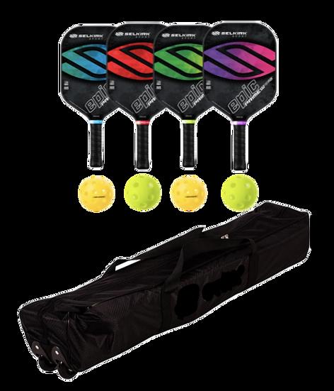 Selkirk Prime Epic 4 Paddle + Net Package
