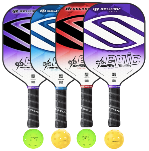 Selkirk Amped Epic 4 Paddle Package
