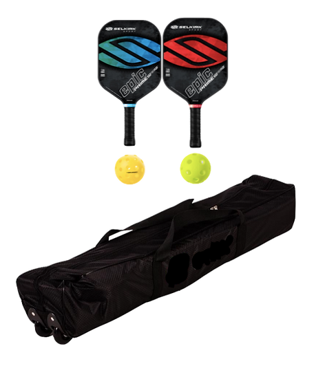 Selkirk Prime Epic 2 Paddle + Net Package