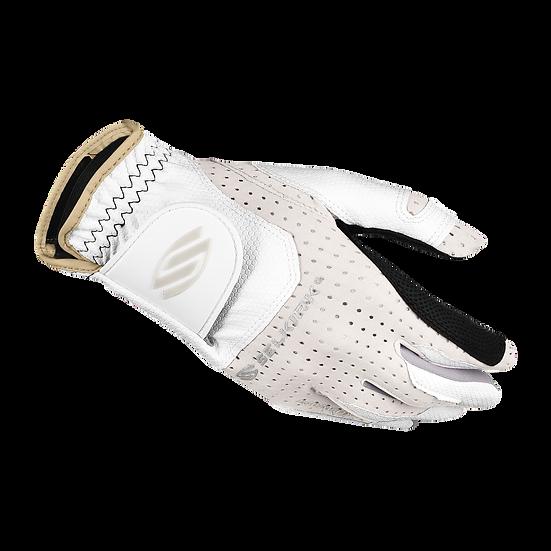 Selkirk Women's Attaktix Premium Leather Palm Coolskin Upper Glove White/Sand