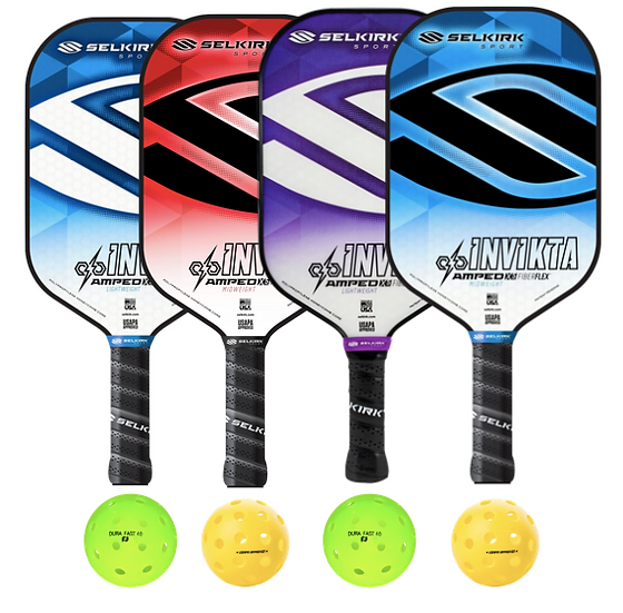 Selkirk Amped Invikta 4 Paddle Package