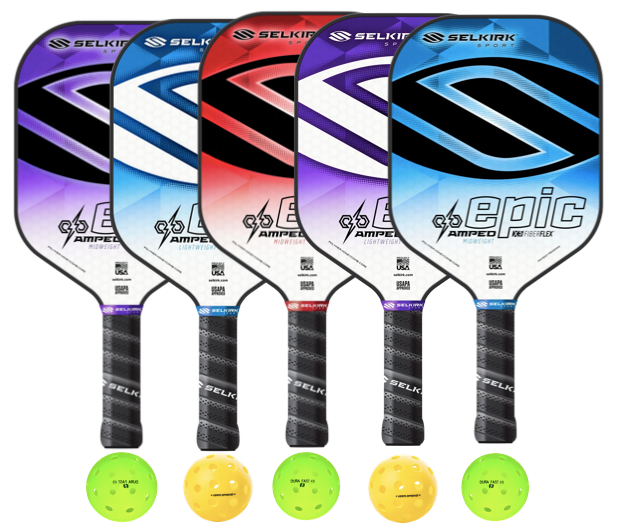 Selkirk Amped Epic 5 Paddle Package
