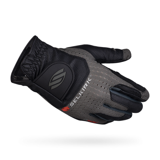 Selkirk Men's Attaktix Premium Leather Palm Coolskin Upper Glove Grey/Black