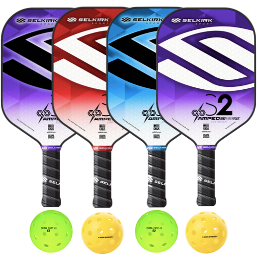 Selkirk Amped S2 4 Paddle Package