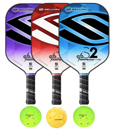 Selkirk Amped S2 3 Paddle Package