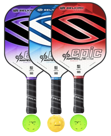 Selkirk Amped Epic 3 Paddle Package