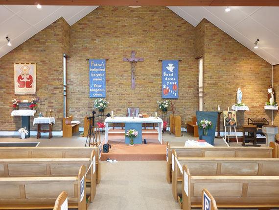 Inside St Margaret