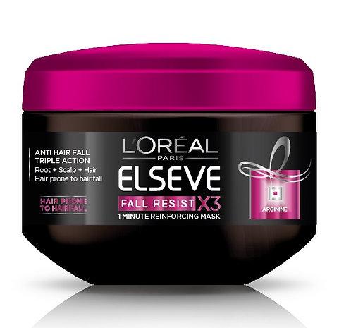 L'Oreal Paris Elseve Fall Repair Resist 3X Anti-Hair Fall Treatment Mask 200ml