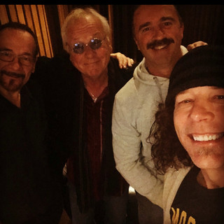 Recording 'Love Conquers All' with Jim, Goddo, Mike K, and TOMMYGUNN
