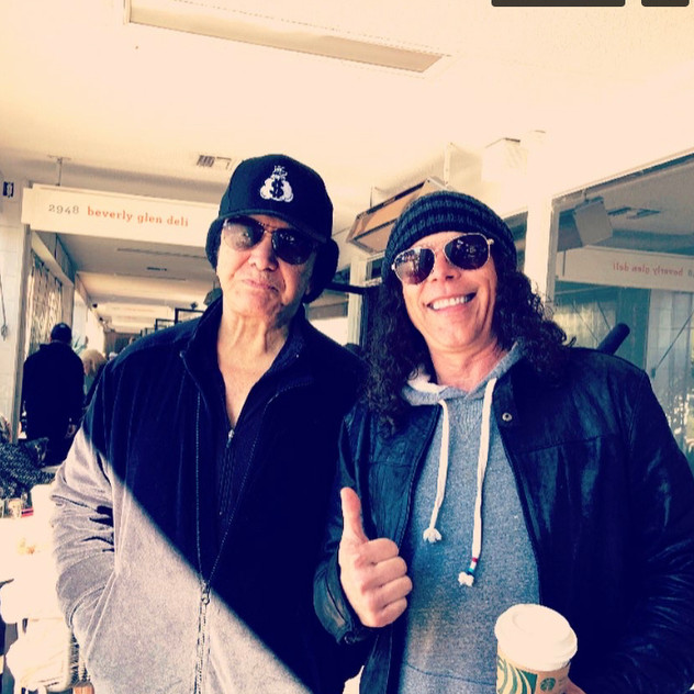Gene Simmons & Tommy