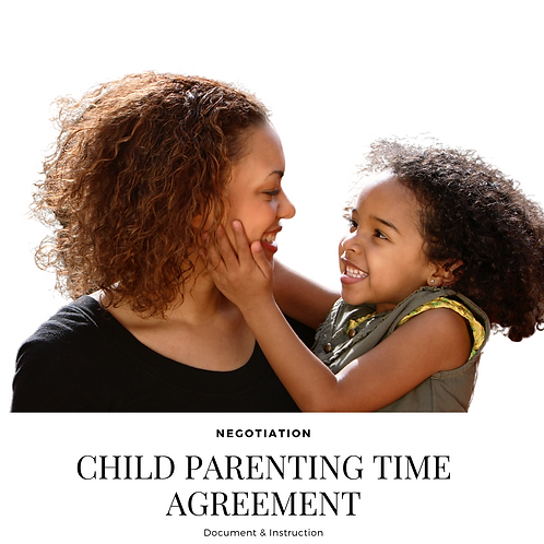 Parenting Time/Visitation Negotiation Service
