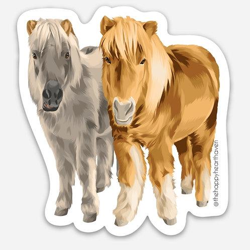 Mini Horse Sticker