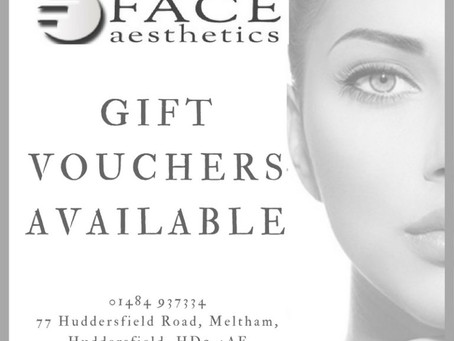 Gift Vouchers at Face Aesthetics & Beauty - The Perfect Gift