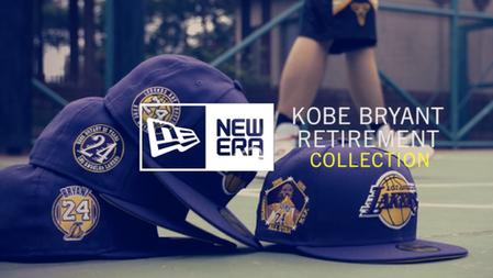 New Era | Kobe Bryant Retirement Collection story-1 15sec