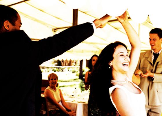 Married Couple, Wedding, Dancing