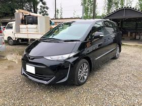中古車 エスティマ霊柩車製作 No.43 Ver.レール