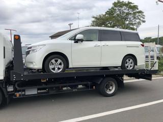 【中古車】エルグランド霊柩車/搬送車・寝台車の製作・改造「レール編」