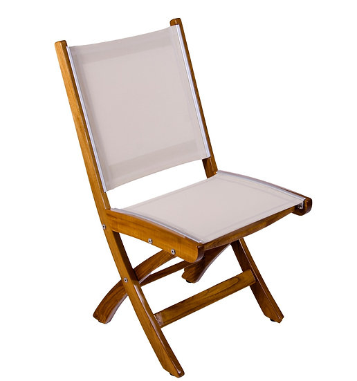 UV PROTECTED TEAK YACHT CHAIRS