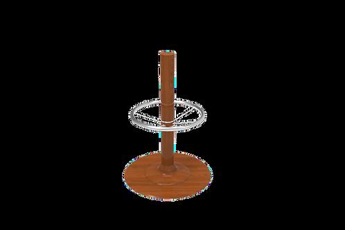 VENEER WRAPPED FREESTANDING PEDESTAL