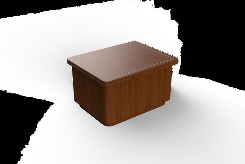 Box Table Veneer Wrapped Base