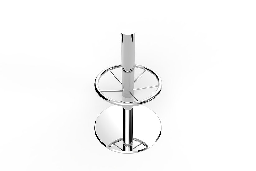 316 Mirror Polished Stainless Steel Pedestal