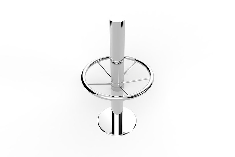 Mirror Polished Stainless Steel Pedestal