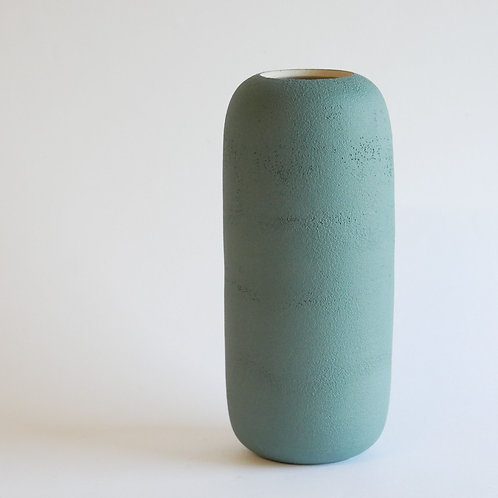 Vase gélule vert clair - moyen modèle
