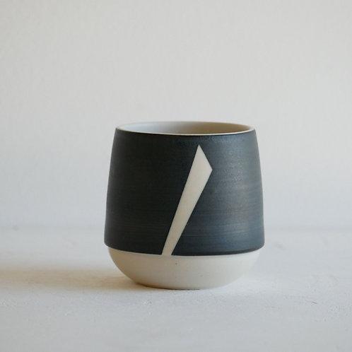 Tasse à café noire - 100 ml