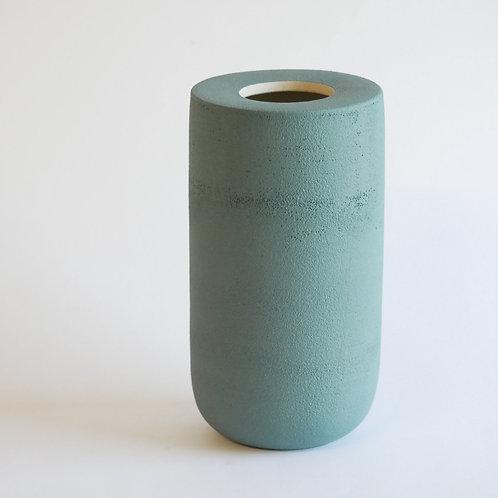 Vase plan vert clair