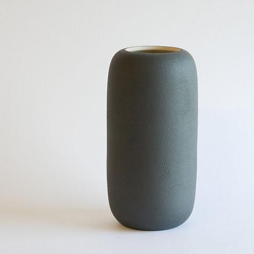 Vase gélule noir - moyen modèle
