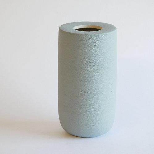 Vase plan bleu clair