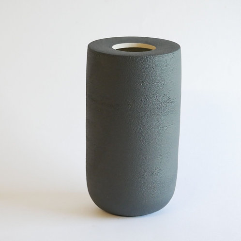 Vase plan noir