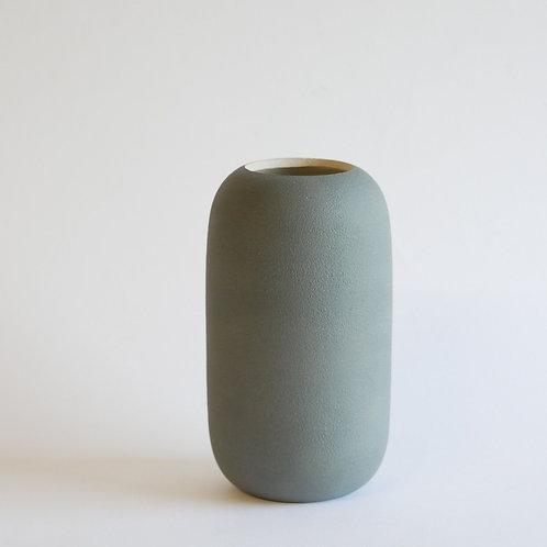 Vase gélule gris - petit modèle
