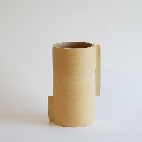 Vase totem brun - petit modèle