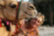 Ursula Musch - Kamel Uschi Dubai, traditioneller Abend in der Wüste, Safari, Kamel reiten