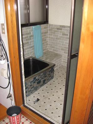 改修前現況浴室